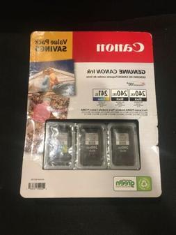 Genuine Canon Ink Cartridge Multipack PG-240XXL Black & CL-2