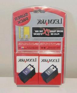 Genuine OEM LEXMARK 34 35 High Yield Ink Cartridge Black, Co