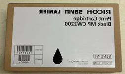 GENUINE OEM Ricoh/Savin/Lanier Print Cartridge MP CW2200 Bla