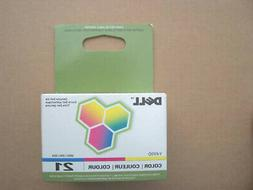 Genuine Dell Series 21 Y499d Ink Color Cartridge V313w P513w