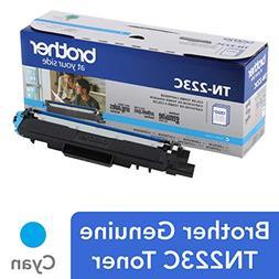 Brother Genuine TN223C, Standard Yield Toner Cartridge, Repl