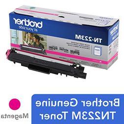 Brother Genuine TN223M, Standard Yield Toner Cartridge,  Rep