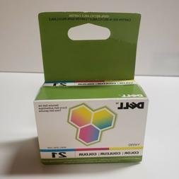 Genuine DELL Y499D Series 21 Color Ink Cartridge New Unopene