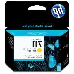 HP HEWCZ136A 711 Yellow Ink Cartridges, Yellow