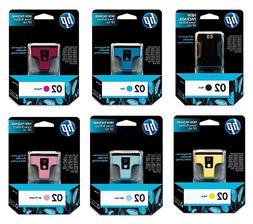 HP 02 OEM Ink Cartridge 6-Pack