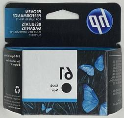 HP 61 Original Ink Cartridge - Black - Inkjet - Standard Yie