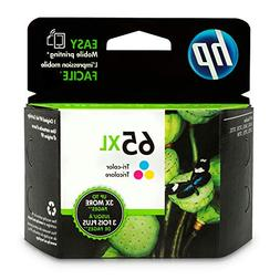HP 65XL Original Ink Cartridge - Tri-color - Inkjet - High Y