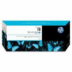 HP OEM 81 Light Cyan Ink Cartridge