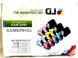 LD-HP02 BULK High Yield 13 Ink Cartridge Set