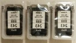 CANON Ink BLACK Cartridge Genuine PG-243 in Bulk Packaging f