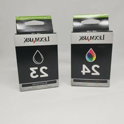 Lexmark ink cartridge 23 24 Black and Color Made In 2010