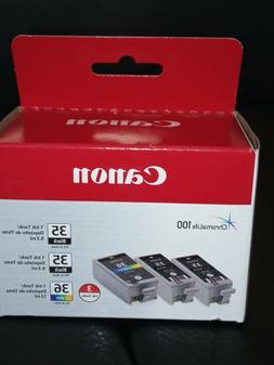 Canon Ink Cartridge 35 35 36 3-PAK brand new
