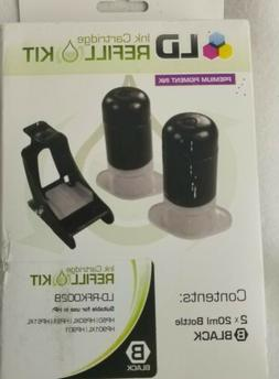 LD Ink Cartridge Black refill kit LD-RFK002B Premium  Pigmen