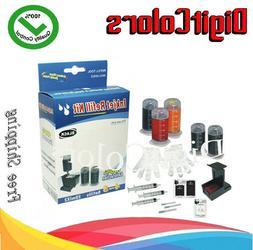 Cartridge ink Refill bottle tool kit for HP 22 22XL 21 57 56