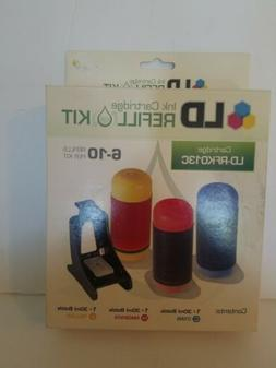 LD Ink Cartridge Refill Kit LD-RFK013C  Tricolor  New in Box