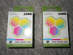 Dell Ink Cartridges Genuine Color 9  Sealed Boxes / Exp.Unkn
