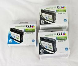 LD Ink Cartridges HP-932XL Brand New Lot of 3 1-Cyan/2 Black