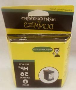 Inkjet Cartridge for Dummies Remanufactured HP 56 C6656A BLA
