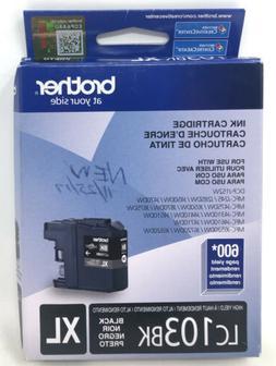 Brother Innobella High Yield  Black Ink Cartridge - Inkjet -