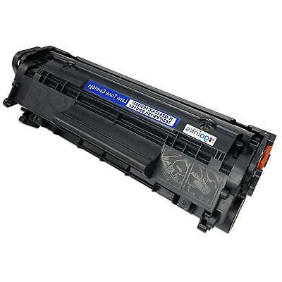 1 black toner cartridge for hp laserjet