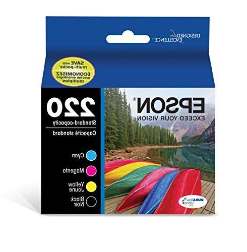 Epson 4-pack Ink Cartridges Black/cyan/magenta/yellow