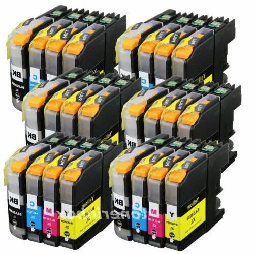 24pk lc203 xl ink cartridge for brother