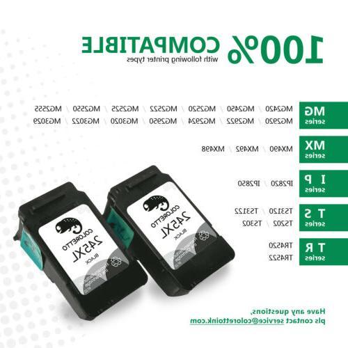 2pk Black For Canon XL XL