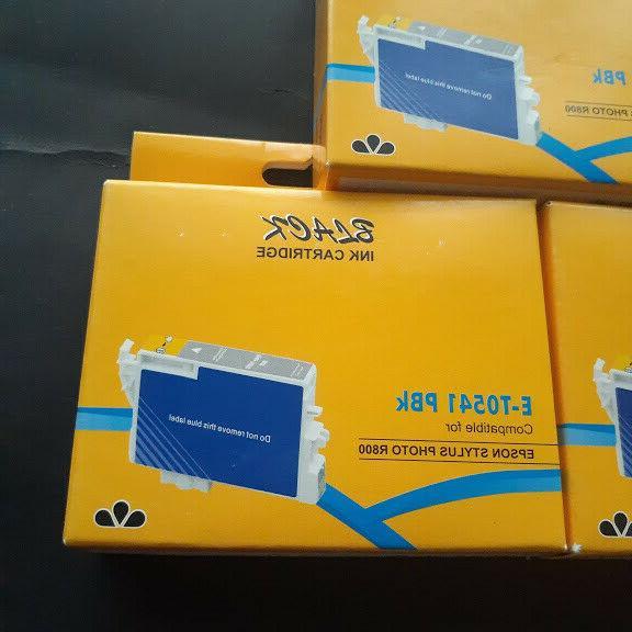 3 Cartridges Remanufacture for Epson PBK Stylus R1800