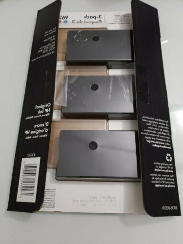 3-PACK HP GENUINE Cyan Ink Cartridges Dated