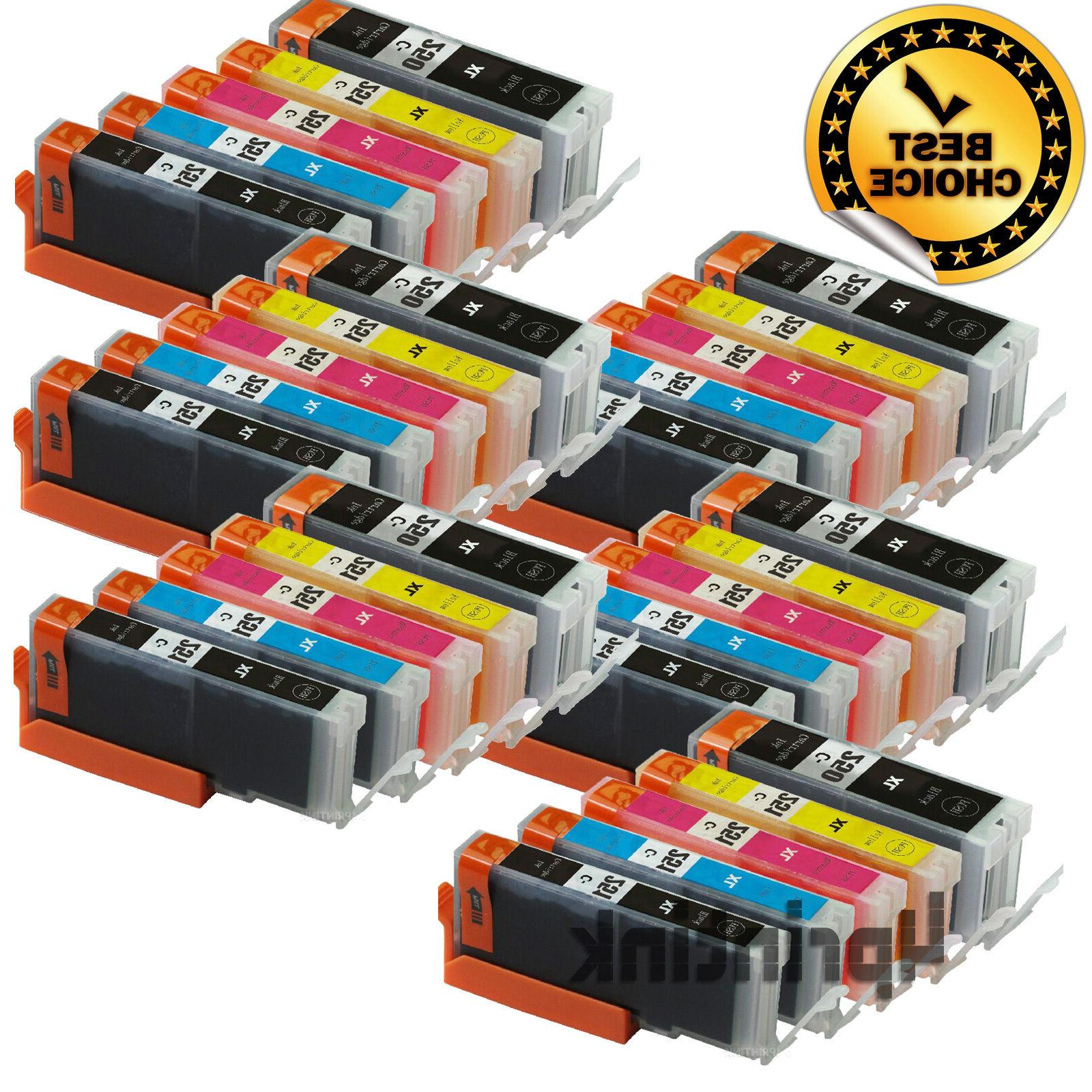 30 ink cartridges for canon pixma pgi