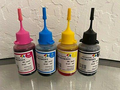 4x30ml refill ink for canon cartridge pg