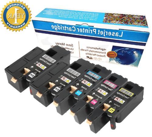 5 1250 toner cartridge black color set