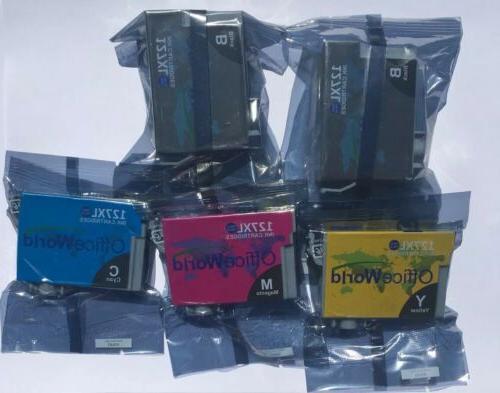 5 127xl ink cartridges 2 black yellow