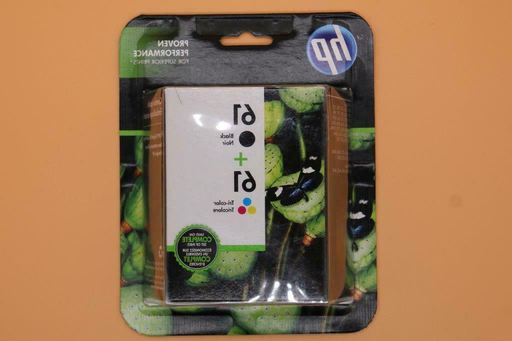 61 combo genuine retail box ink cartridge