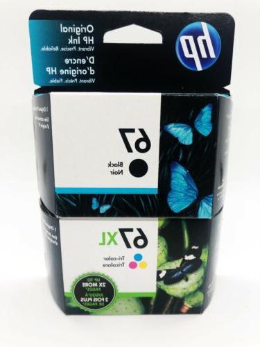 67 67xl black tri color ink cartridges