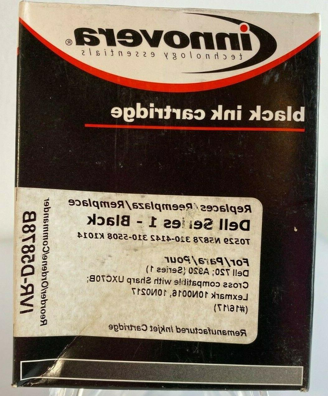 black ink cartridge ivr d5878b sealed in