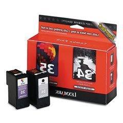 Lexmark Compatible NO.34/35 Value Pack Inkjet