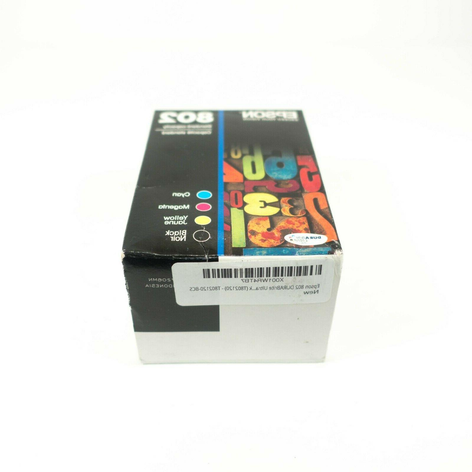 Epson DuraBrite Ultra 802 Black Color Pack Cartridges