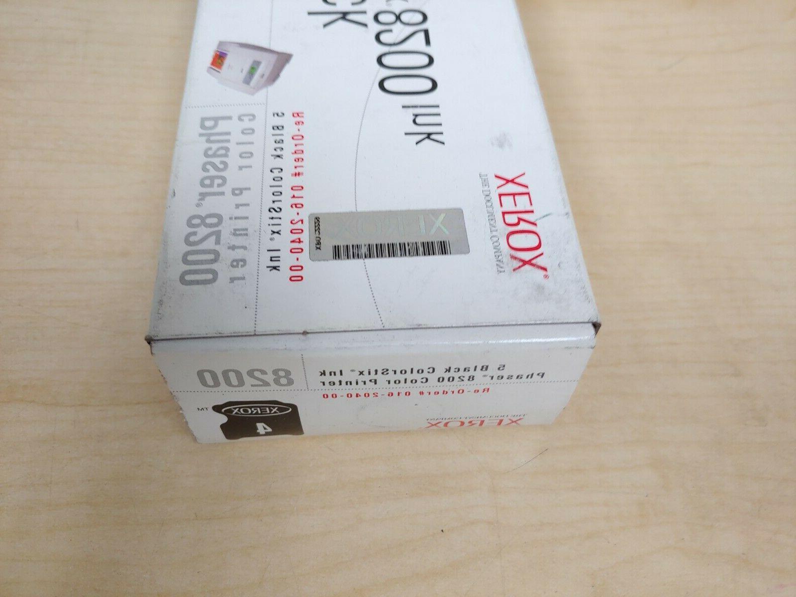 Genuine Xerox ColorStix 8200 Ink Cartridges 5 New