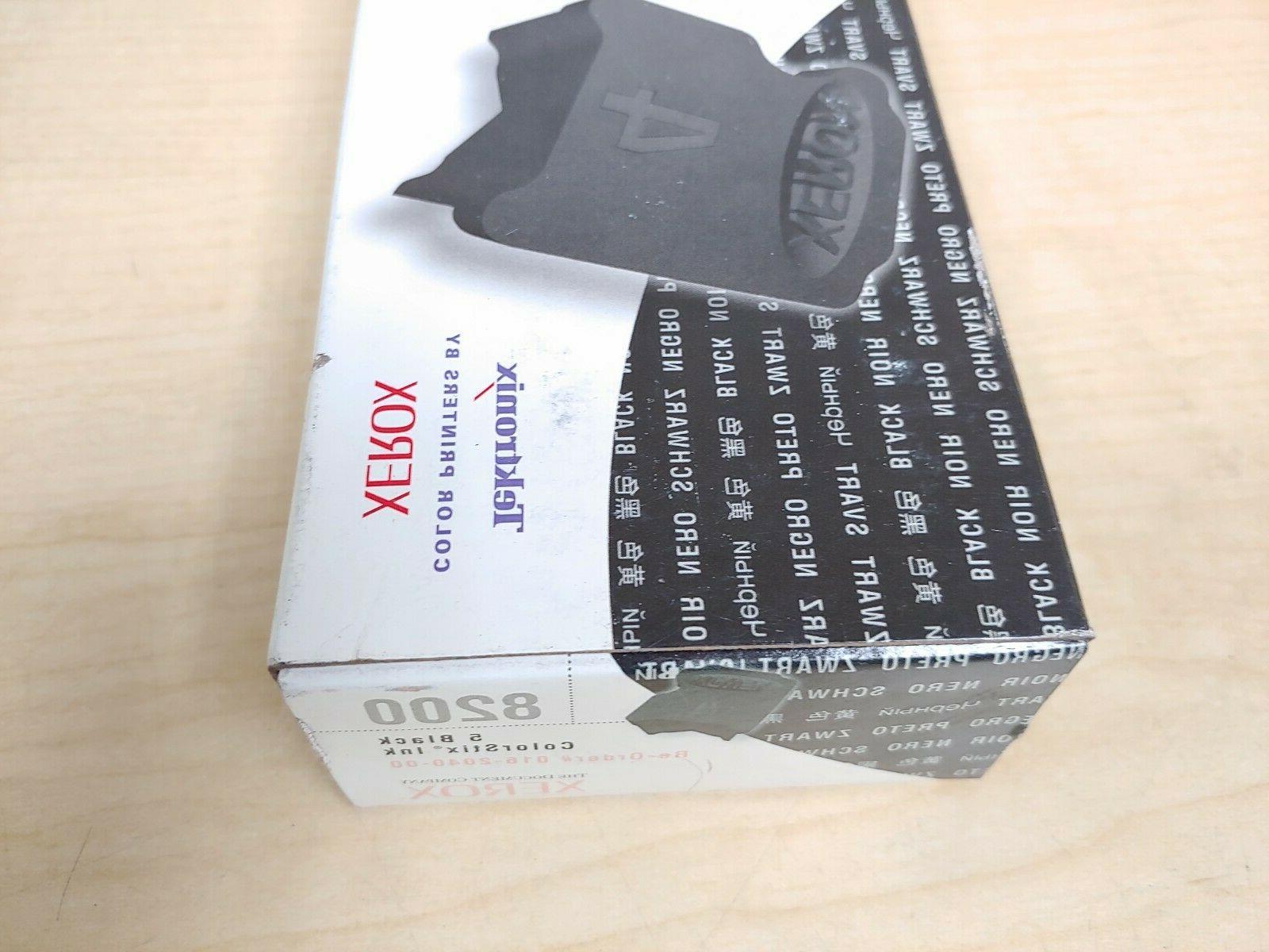 Genuine ColorStix 8200 Ink Black 5 016-2040-00