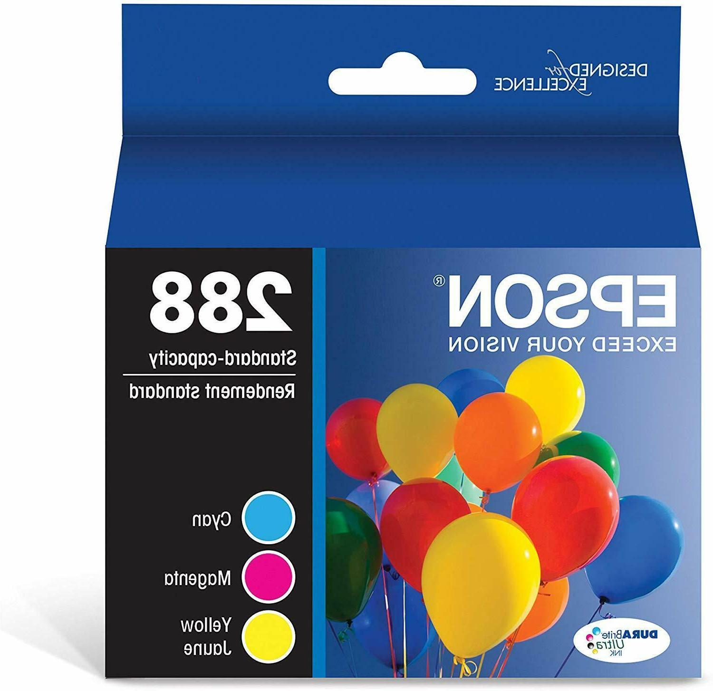 genuine t288520 288 color ink cartridges 3