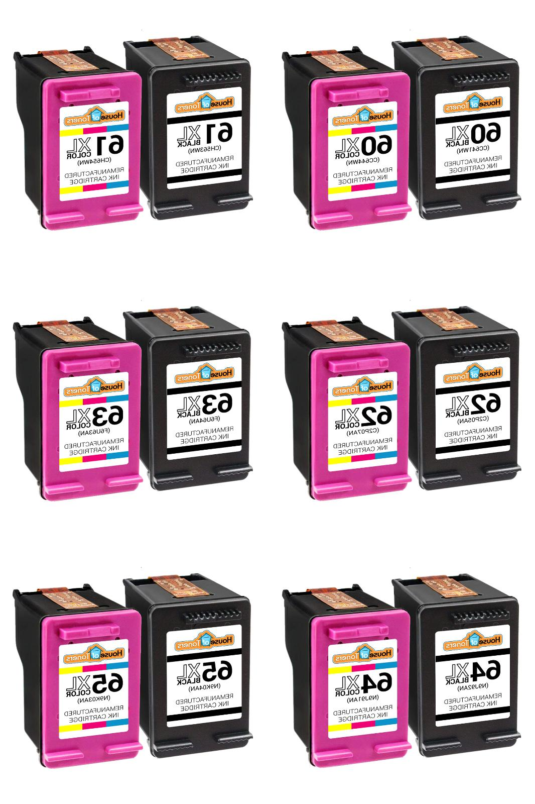 ink cartridge combo for hp 60xl 61xl