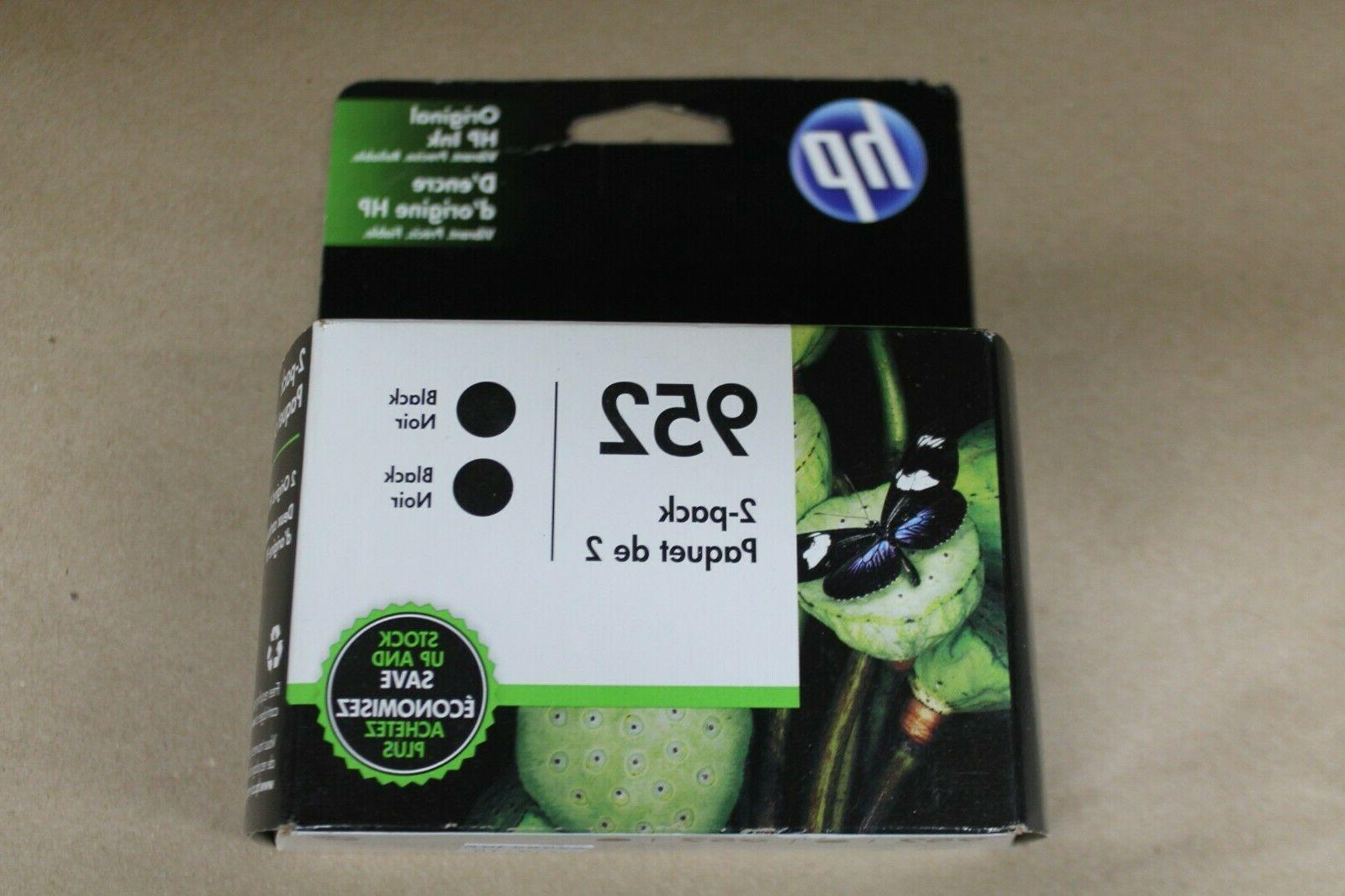 ink replacement cartridges 952 black 2 pack