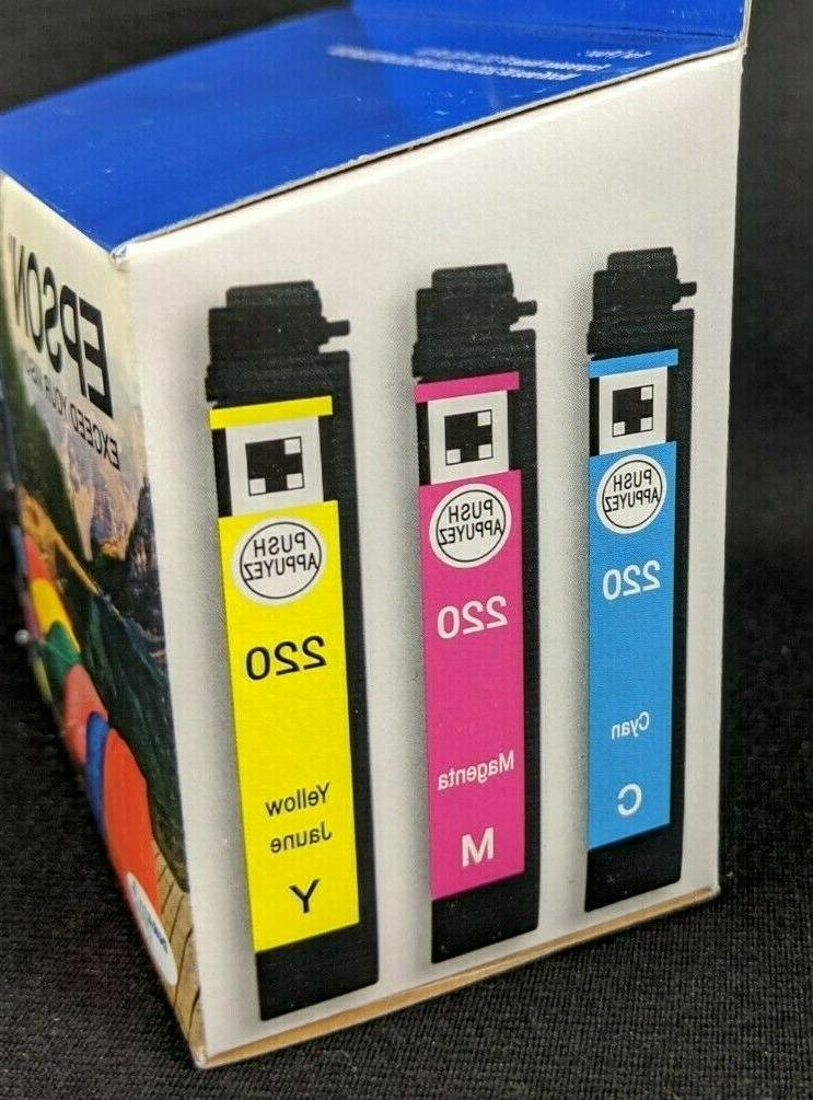 New! EPSON T220520 Cartridge Magenta Exp Sep 2020