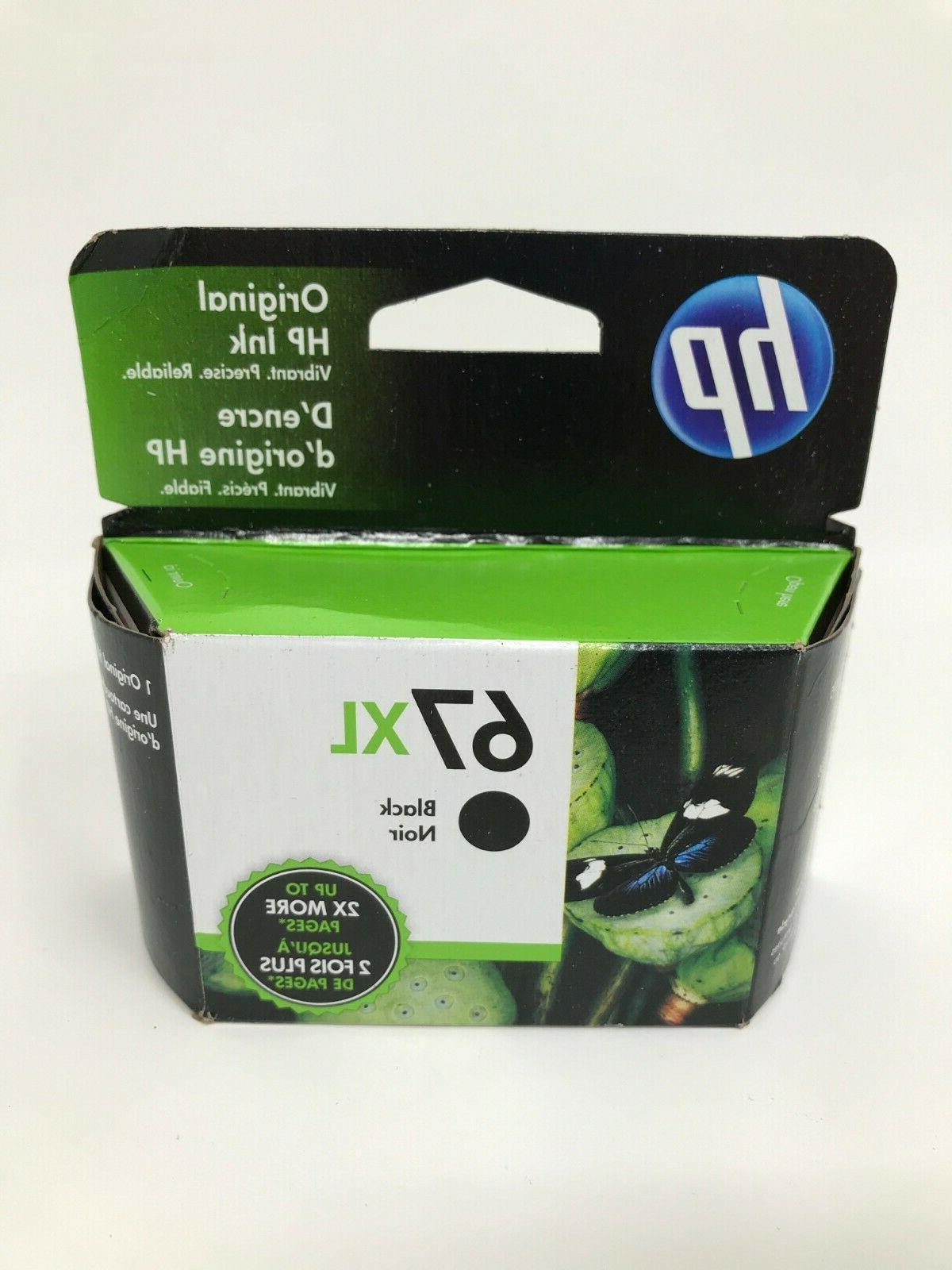 NEW Genuine HP 67XL Black Printer Ink Cartridge 3YM57AN OEM