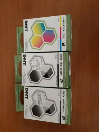 new ink cartridges two 5 black