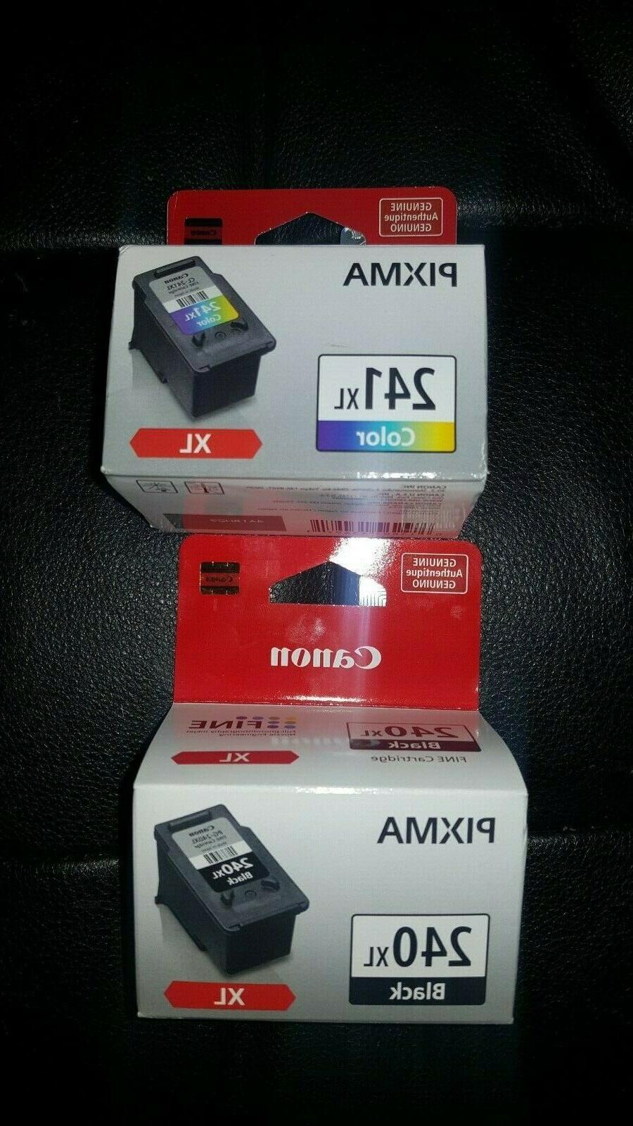 new pixma ink cartridges 240xl black 241