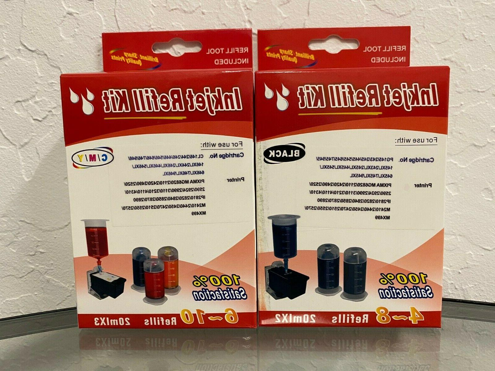 pg 245xl cl 246xl cartridge refill kit