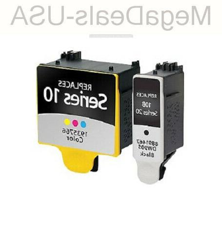 staples remanufactured black and 5 color ink