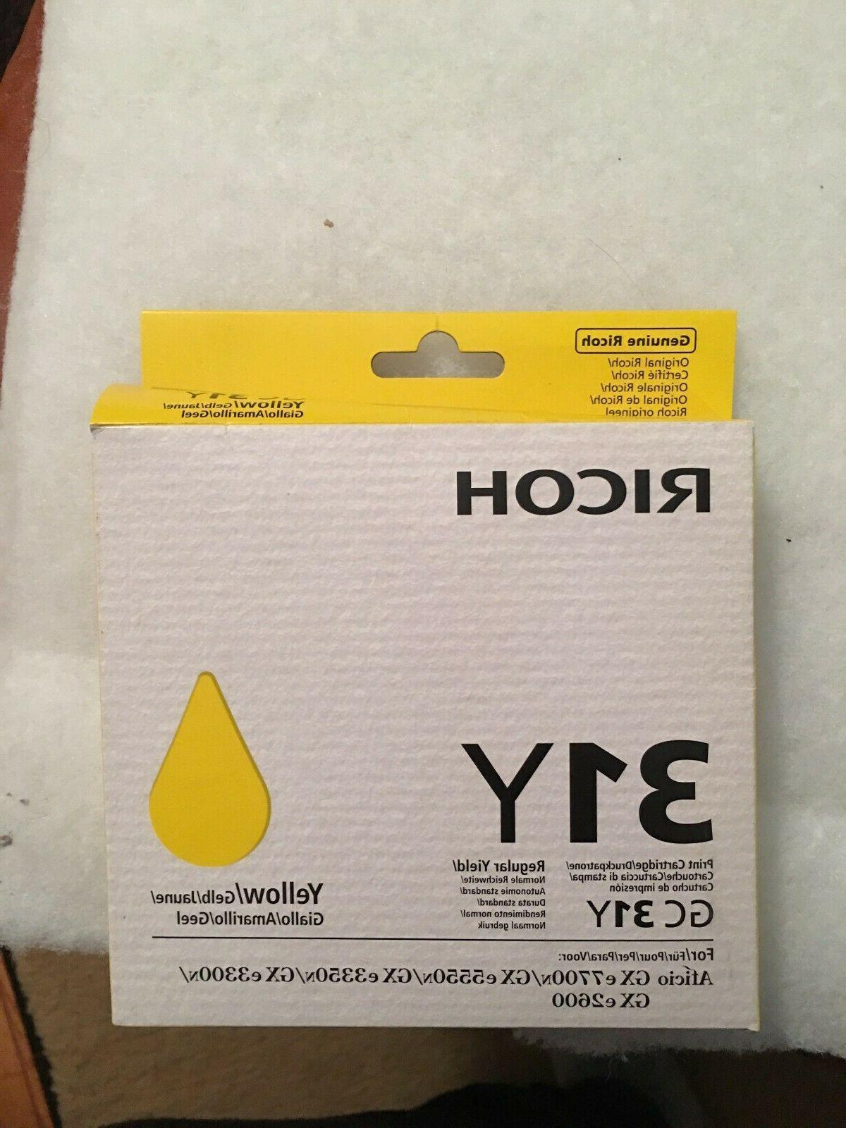 yellow 31y ink cartridge new genuine oem